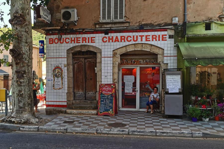 Boucherie à Barjols en centre ville