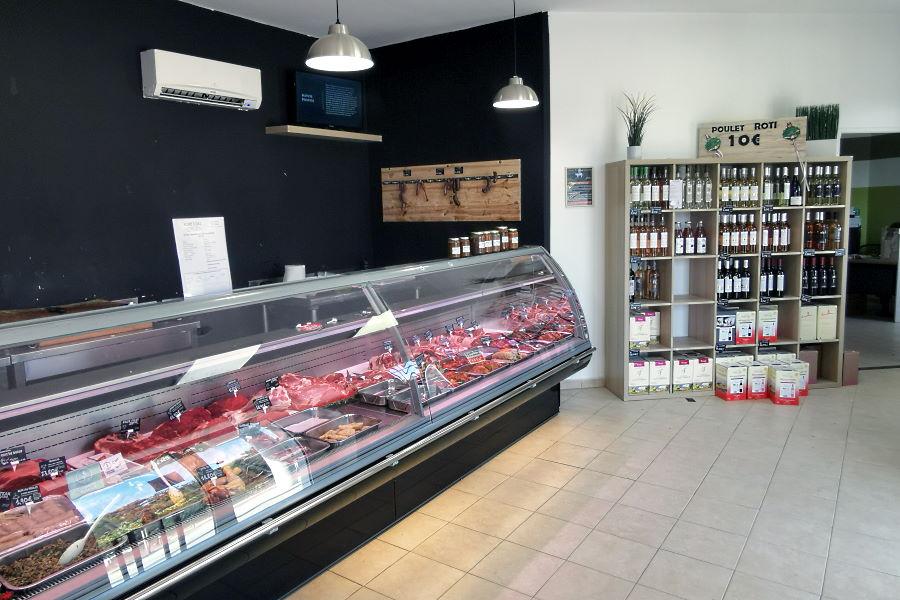 Boucherie à Barjols (Var)