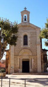 L'église de Brue-Auriac