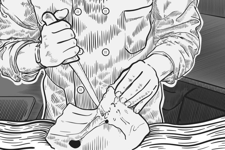 Le savoir-faire du boucher